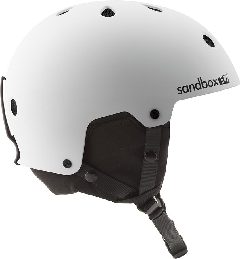 Sandbox Legend Snow Ski/Snowboard Helmet, M Matte White