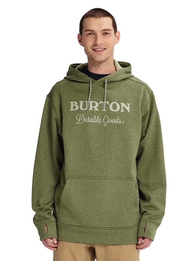 Burton Oak Pullover Ski/Snowboard Hoodie, M Clover Heather