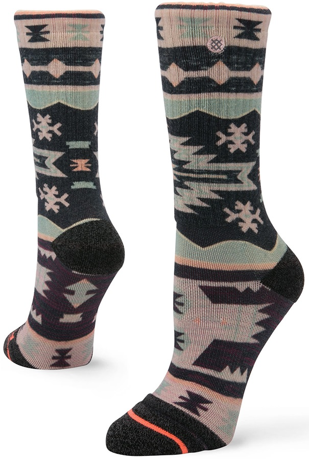 Stance Womens Malheur Outdoor Walking/Hiking Socks, S Blue