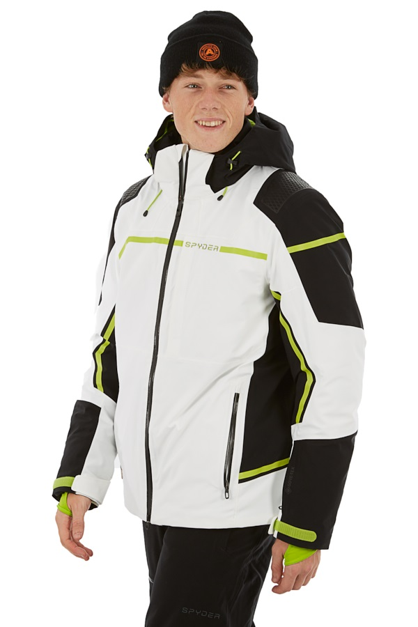 Spyder Titan GTX Ski/Snowboard Jacket, M White