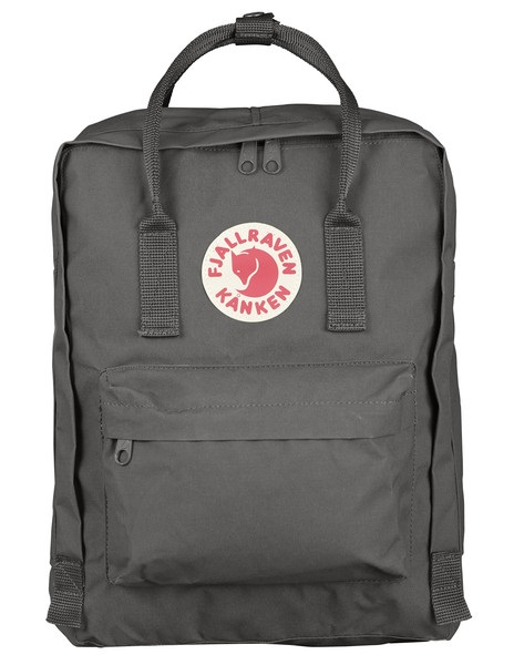 Fjallraven Kanken Backpack, 16L Super Grey