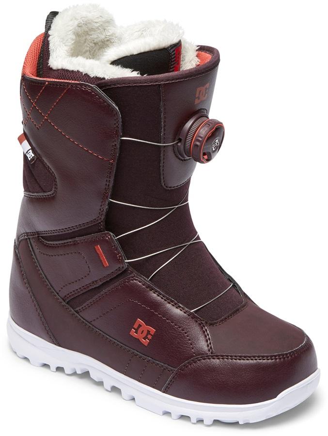 DC Search Womens Boa Snowboard Boots, UK 6.5 Wine 2019