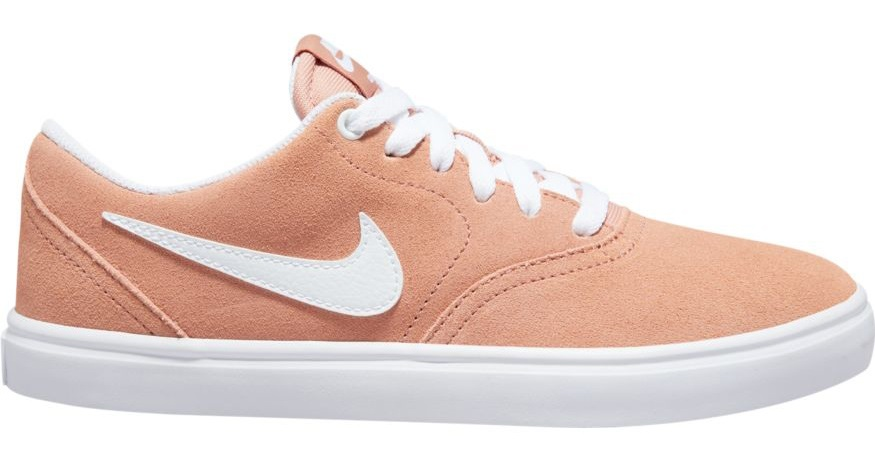 Nike SB Check Solar Women's Skate Shoes Trainers, UK 8 Rose Gold