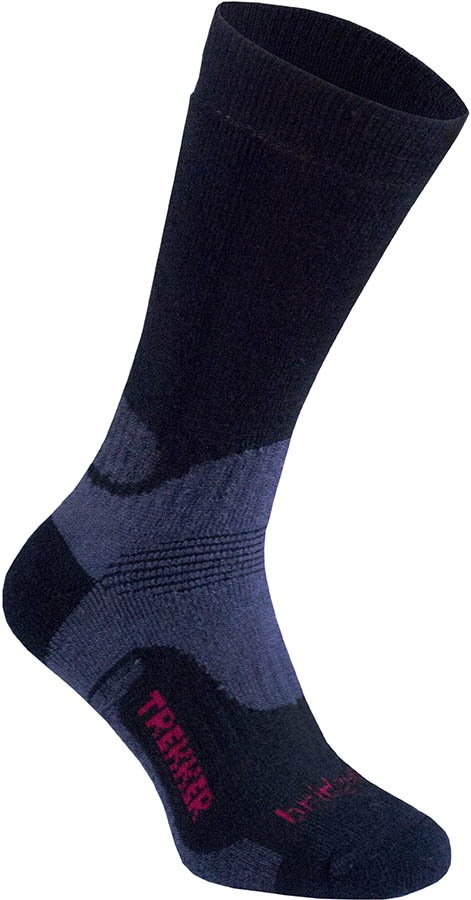 Bridgedale Hike Midweight Men's Hiking Socks, XL Black