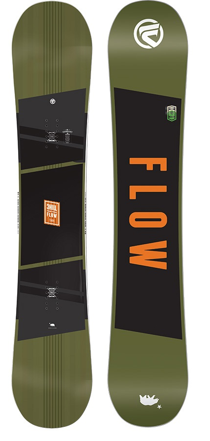 Flow Chill Positive Camber Snowboard, 154cm, 2017