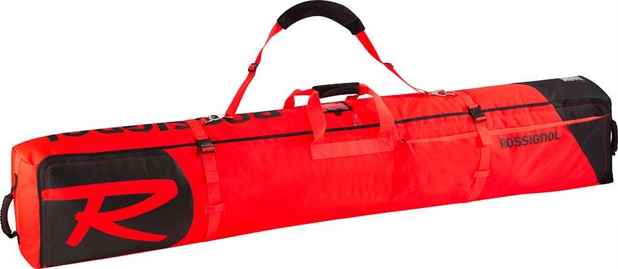 Rossignol Hero Ski Wheeled Bag 2/3P Ski Bag, 200cm Red/Black