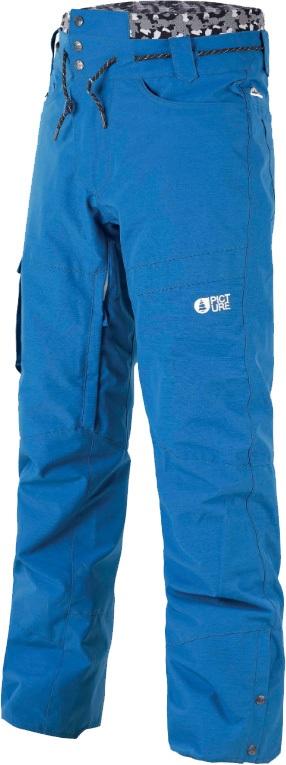 Picture Under Ski/Snowboard Pants, XXL Blue