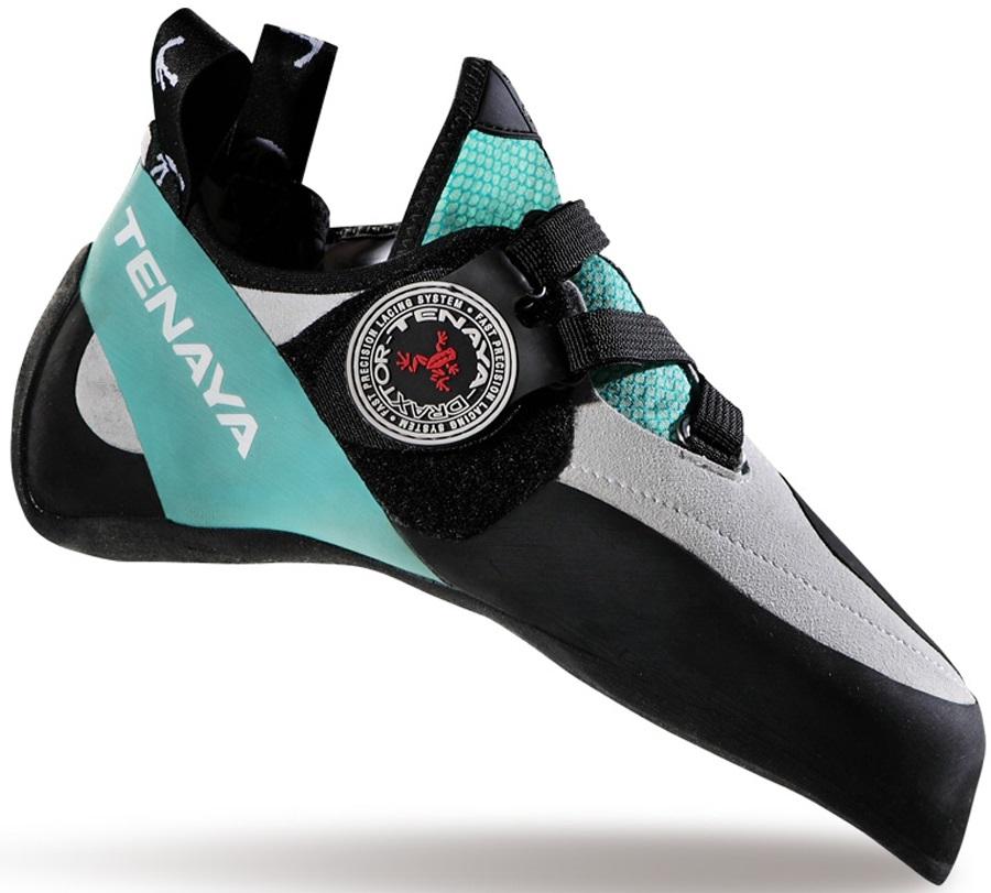 Tenaya Oasi LV Rock Climbing Shoe: UK 3 | EU 35.6, Teal