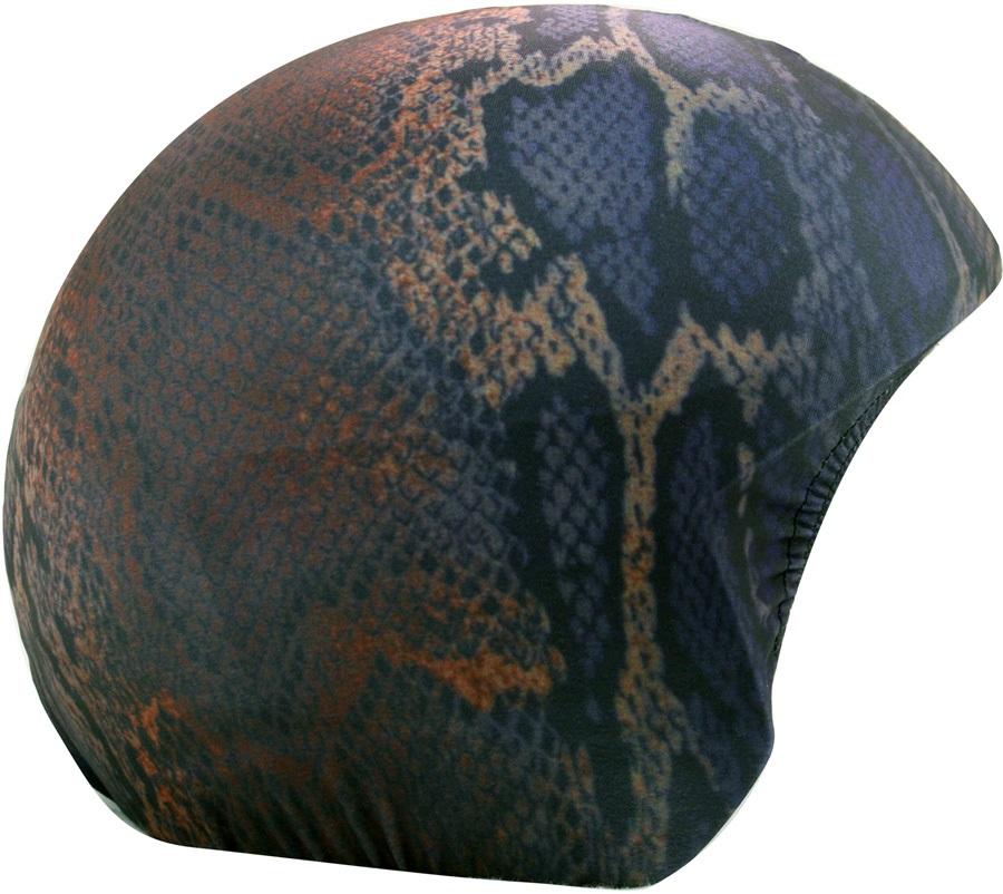 Coolcasc Printed Cool Ski/Snowboard Helmet Cover, Snake