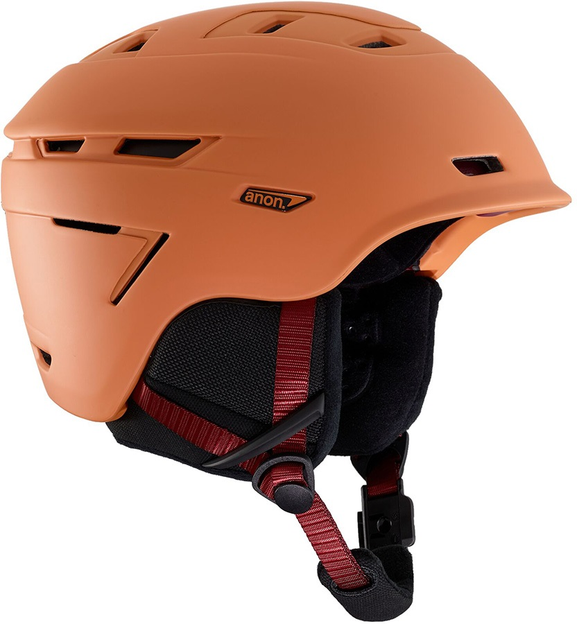Anon Echo Ski/Snowboard Helmet, M Orange