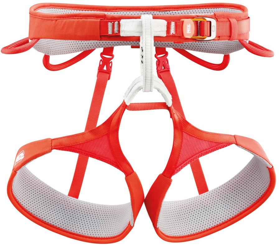 Petzl Adult Unisex Hirundos Harness Adult Climbing Harness, XL Red