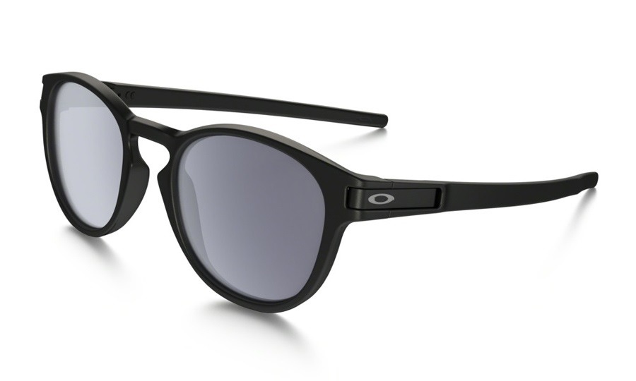 Oakley Latch Sunglasses Matte Black Grey