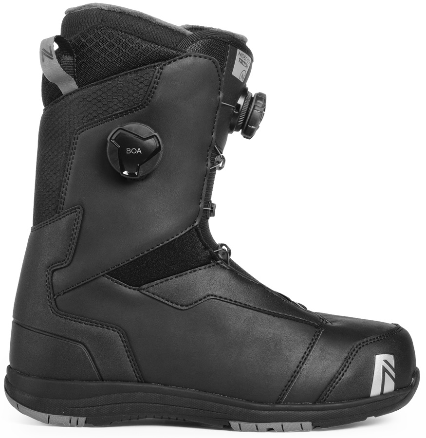 Nidecker Triton Focus Boa Snowboard Boots, UK 8.5 Black 2019