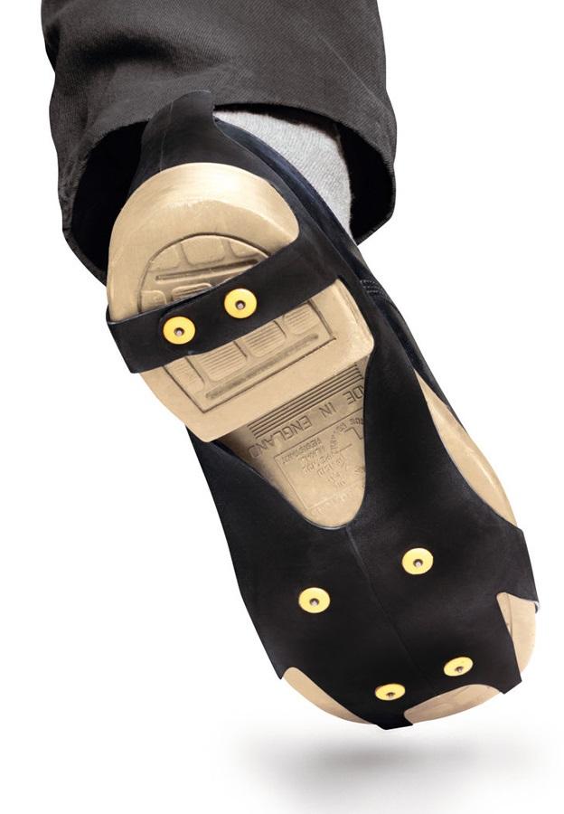 Petzl Spiky Plus Anti-slip Soles Snow & Ice Shoe Spikes, Size 1 Black