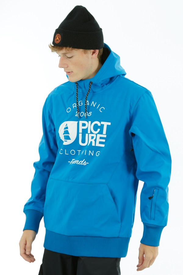 Picture Parker Softshell DWR Hoodie, M Blue