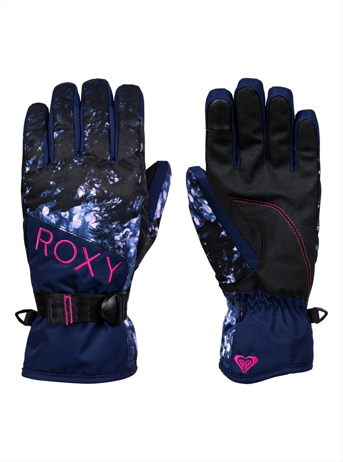 Roxy Jetty Women's Snowboard/Ski Gloves, S Sparkles