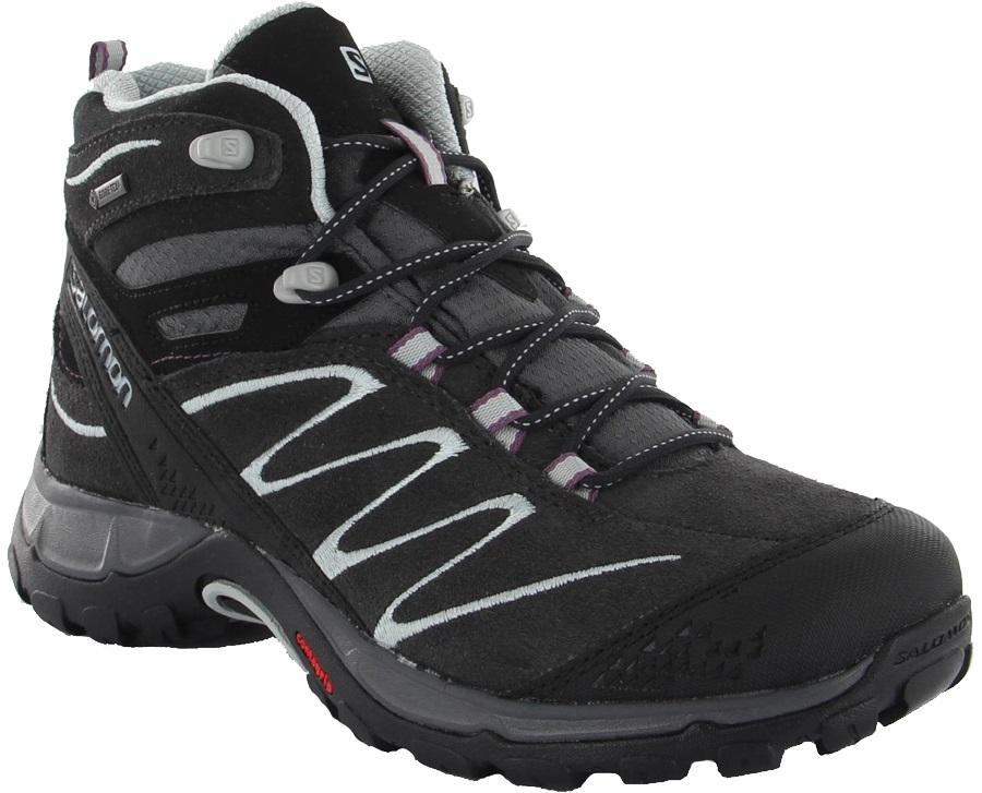 more photos 564bc 13a6b Salomon Ellipse Mid LTR Gore-Tex Women's Hiking Boots, UK 5, Asphalt