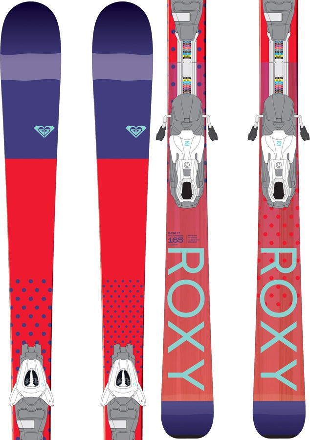 Roxy Kaya 77 L7 Easytrack Women's Skis, 148cm 2018