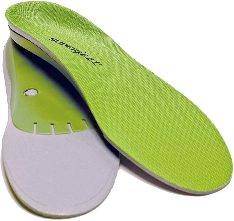 Superfeet Trim To Fit Replacement Shoe Insoles D Green Wide