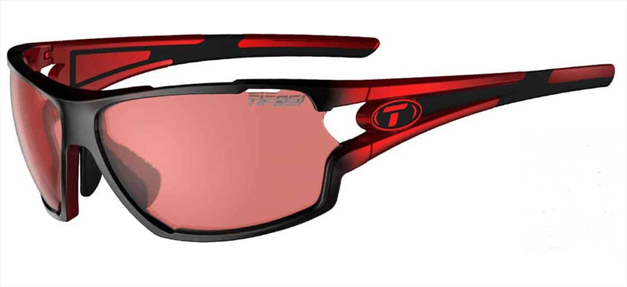 Tifosi Amok Single Lens Fototec Highspeed Red Sunglasses Race Red