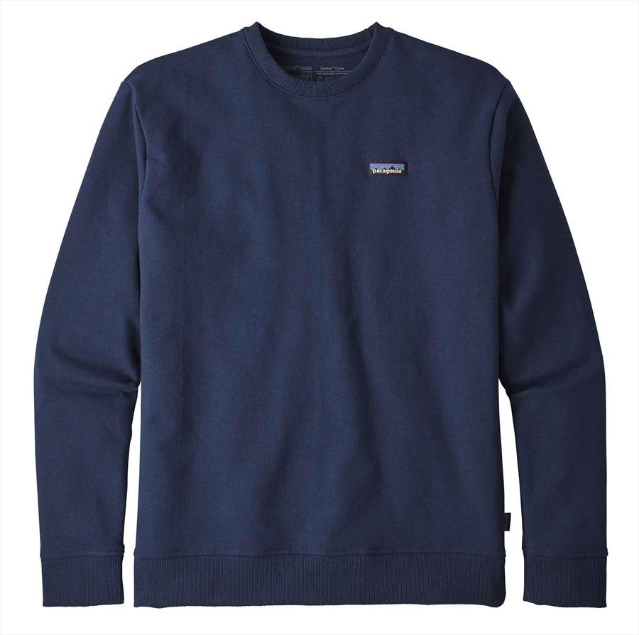 Patagonia P-6 Label Uprisal Crew Sweatshirt, S Classic Navy