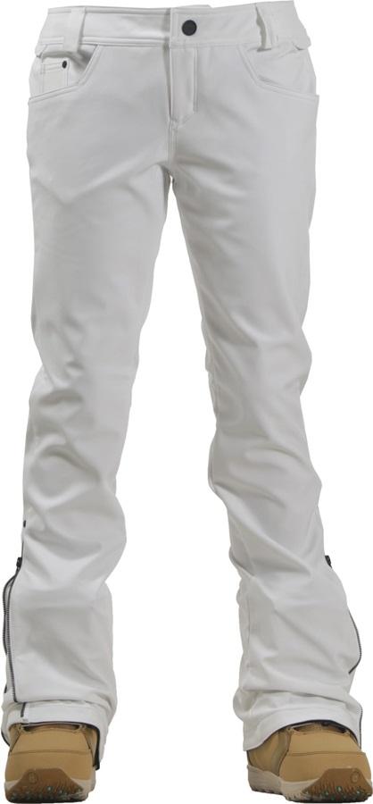Volcom Battle Stretch Women's Snowboard/Ski Pants, L White
