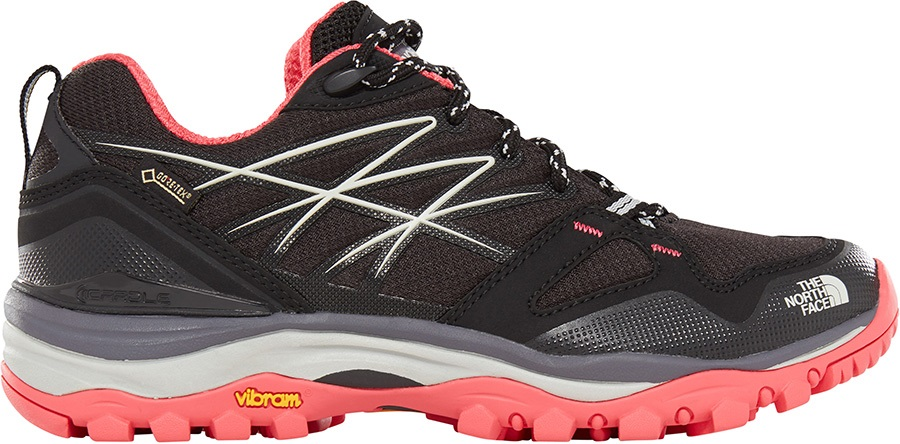 99cacc953 The North Face Hedgehog Fastpack GTX W Hiking Shoe, UK 4 Black/Pink