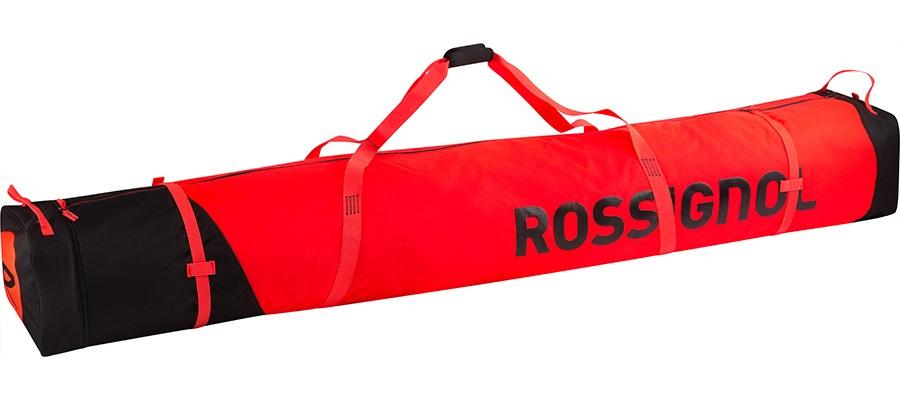 Rossignol Hero Ski Bag 2/3P Ski Bag, 190-210cm Red/Black