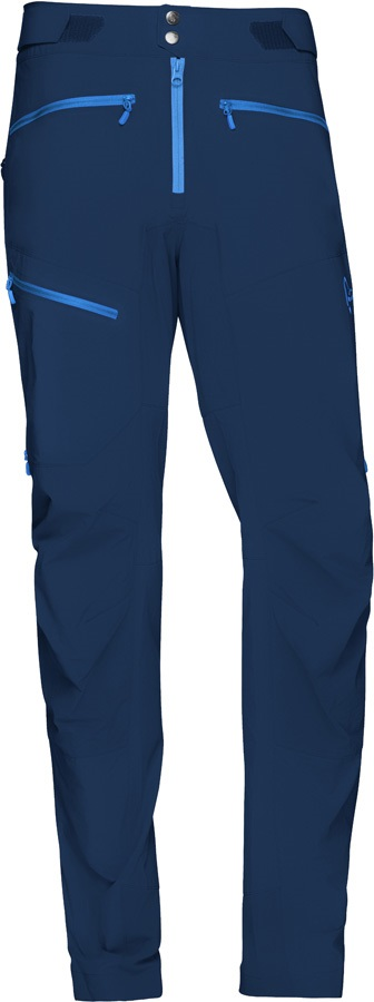 Norrona Fjora Flex1 Pants Men's Bike Cycle Trousers, S Indigo Night