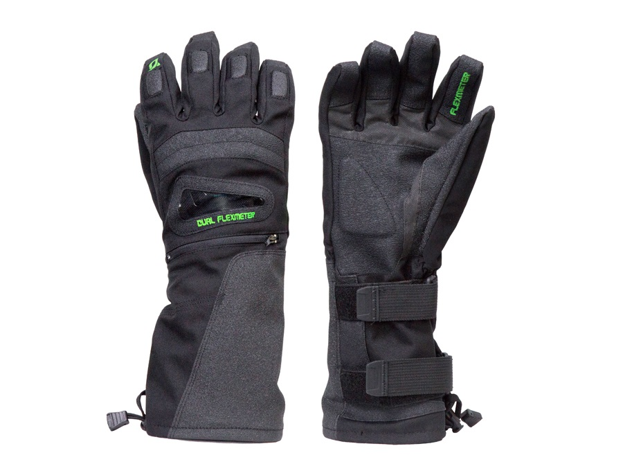 Demon Flexmeter Double Sided Ski/Snowboard Protective Gloves, XL Black