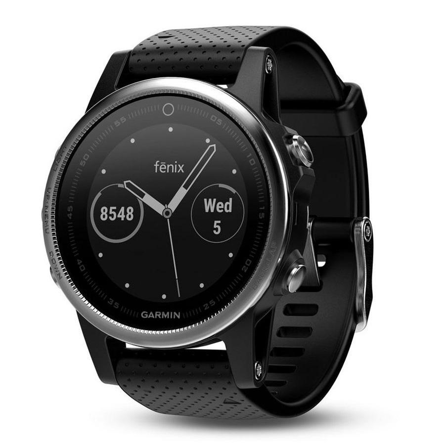 Garmin Fenix 5s Multisport GPS Smartwatch, Black