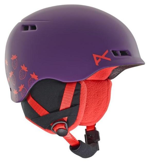 Anon Burner Kid's Ski/Snowboard Helmet, L/XL Purple/Pink