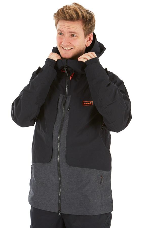 Planks Tracker Snowboard/Ski Jacket M Black
