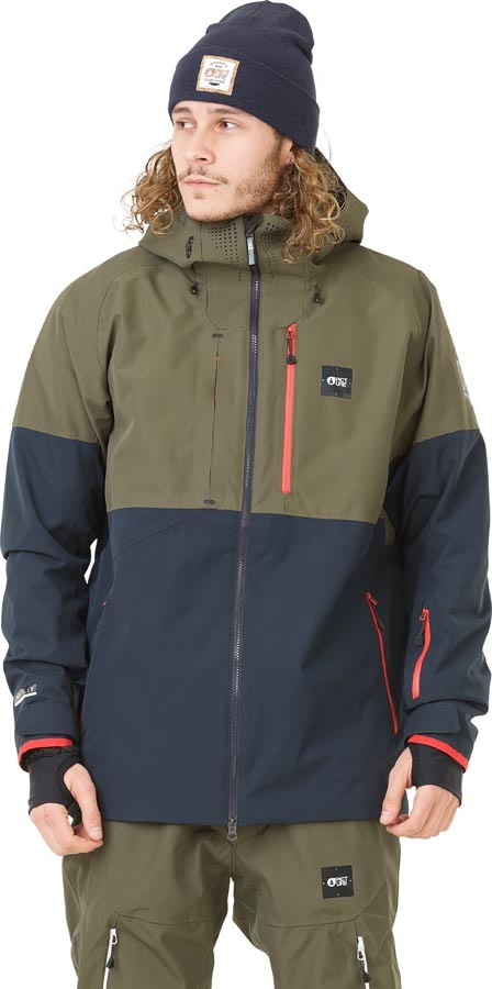 Picture Stone Ski/Snowboard Jacket, M Dark Army Green