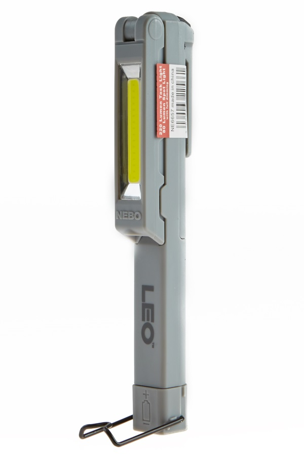 Nebo Leo Torch High Power Pocket Light, 220lm Grey