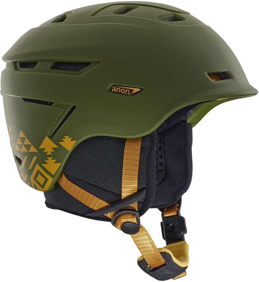 Anon Adult Unisex Echo MIPS Ski/Snowboard Helmet, M Native Green