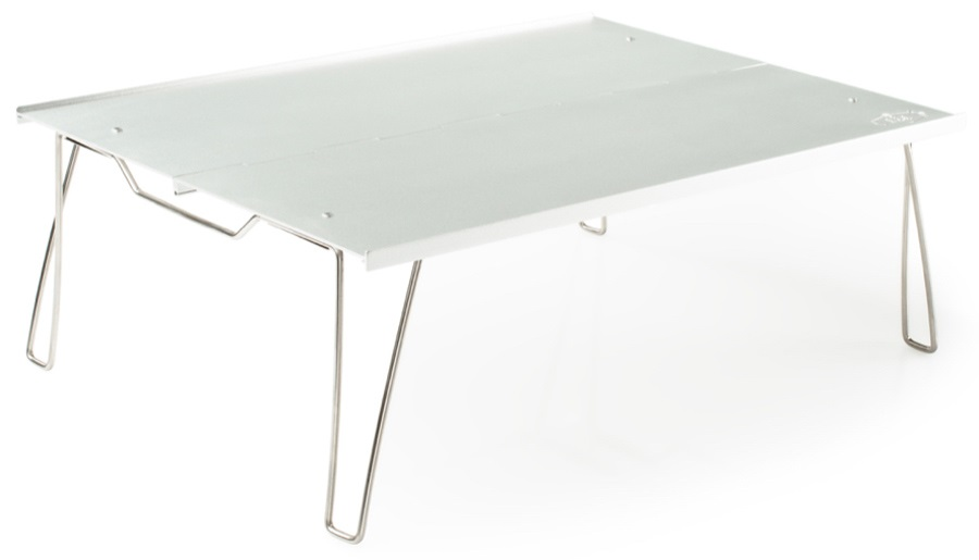GSI Outdoors Ultralight Table Compact Folding Camp Table, S Silver