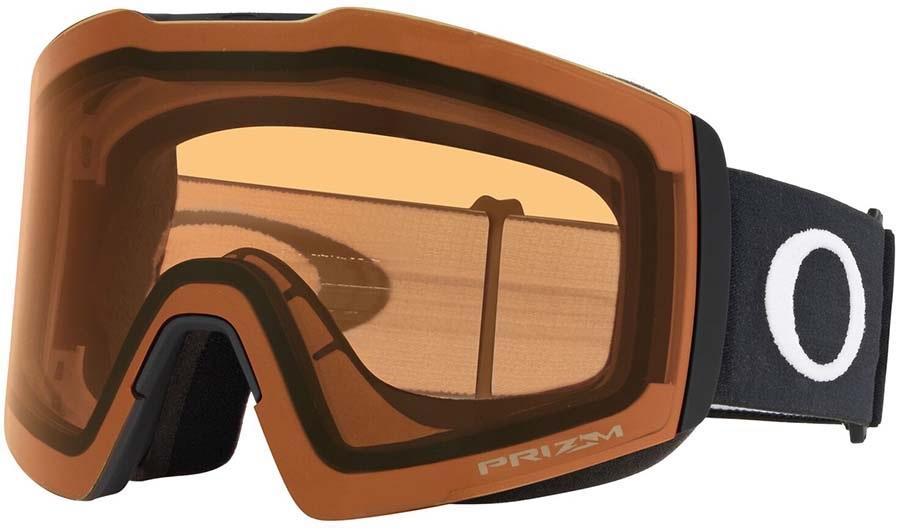Oakley Fall Line XL Persimmon Snowboard/Ski Goggles, L Matte Black