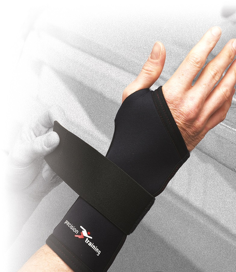 Precision Neoprene Long Wrist Support XL Black