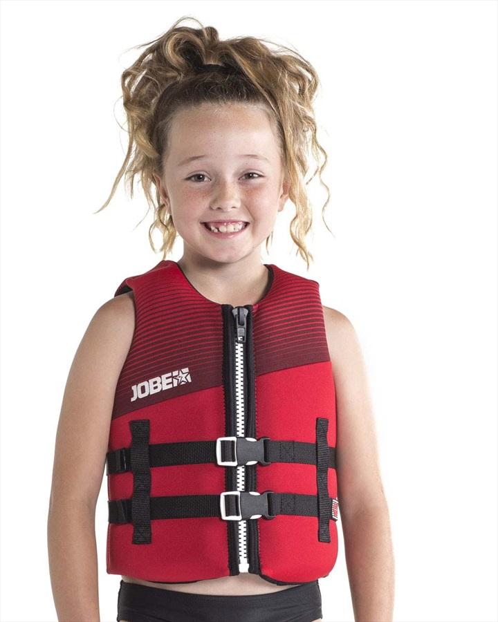 Jobe Neoprene 50N ISO Kids Buoyancy Vest, 14 Red 2019
