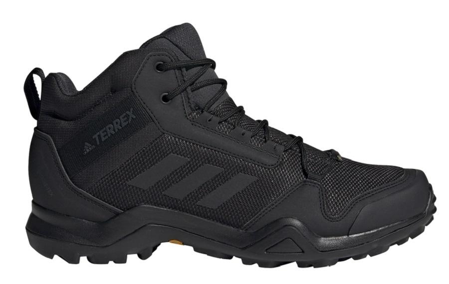 Adidas Terrex AX3 Mid GTX Men's Hiking Boots, UK 7.5 Core Black