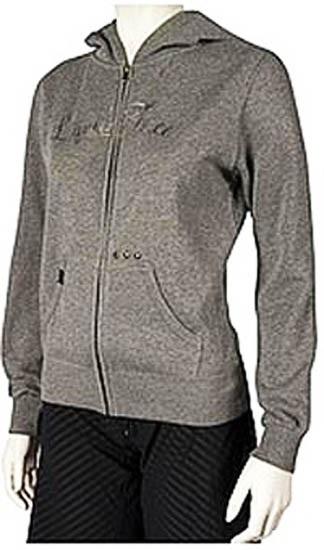 Liquid Force 25th Zipper Fleece, Medium, Grey