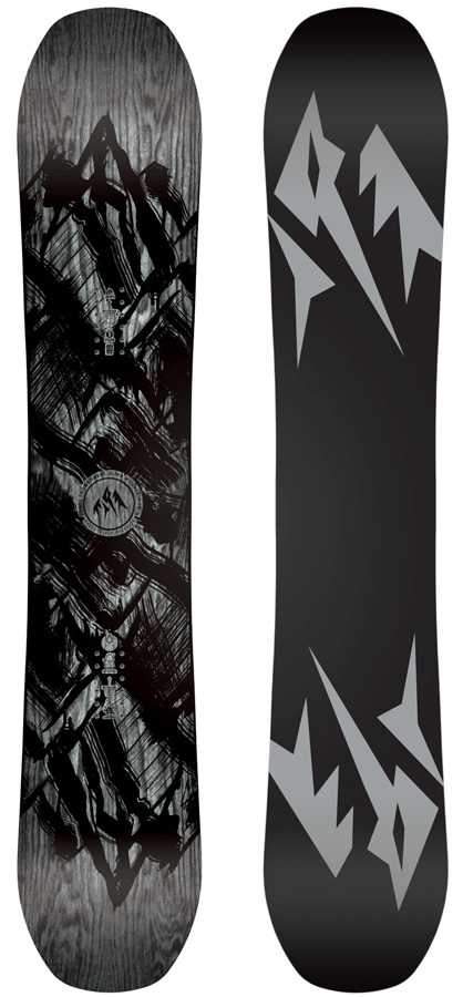 Jones Ultra Mountain Twin Hybrid Camber Snowboard, 161cm Wide 2020