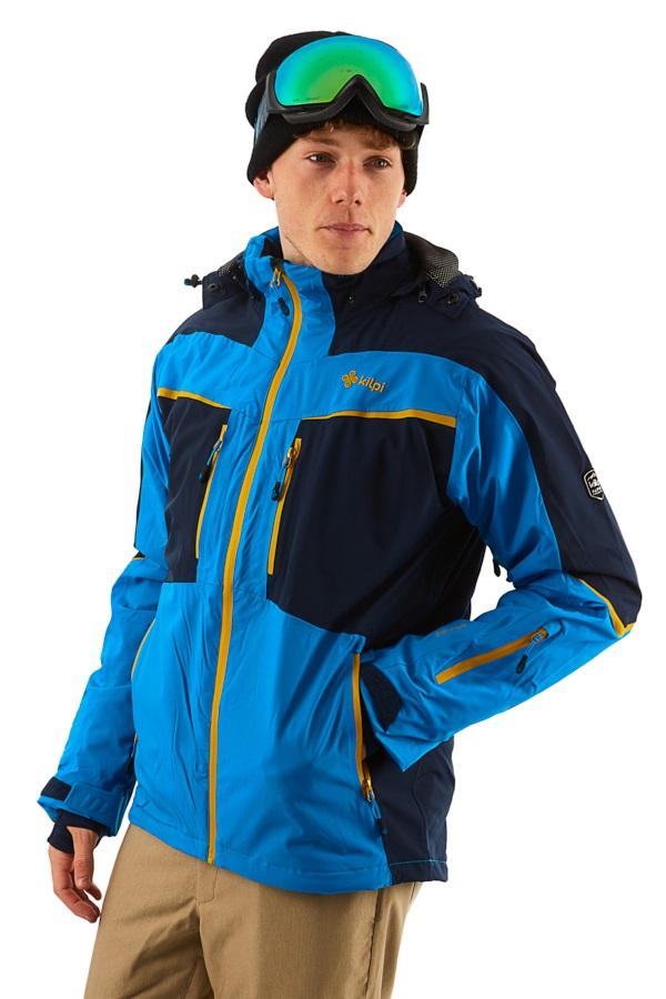 Kilpi IO 2L Alpine Extreme Snowboard/Ski Jacket, M Blue