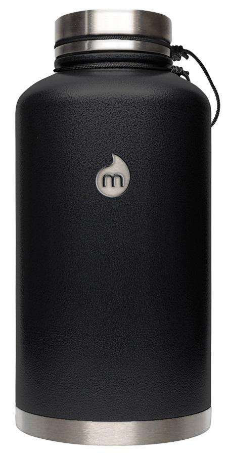 Mizu V20 Hot Cold Vacuum Flask Stainless Steel Water Bottle 2 L Black