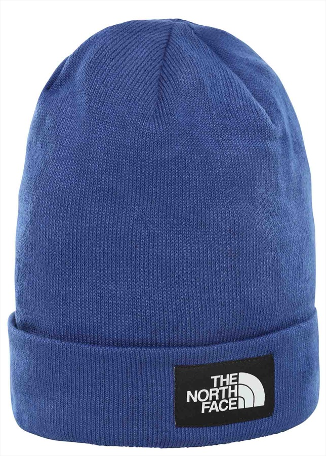 The North Face Dock Worker Beanie One Size TNF Blue/TNF Black