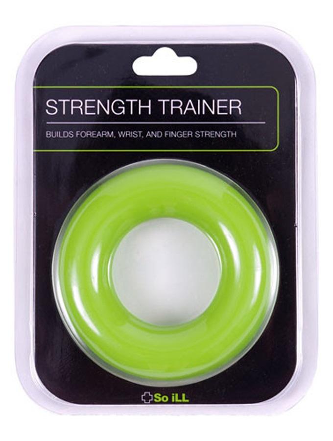 """So iLL Strength Trainer Hand Exerciser, 3.5"""" Diameter Green"""