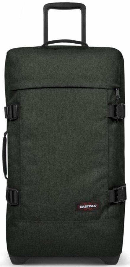 Eastpak Tranverz M Wheeled Bag/Suitcase, 78L Crafty Moss