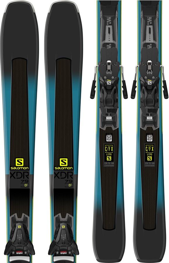 bc13529d Salomon XDR 79 CF Z12 Walk Skis, 180cm 2019