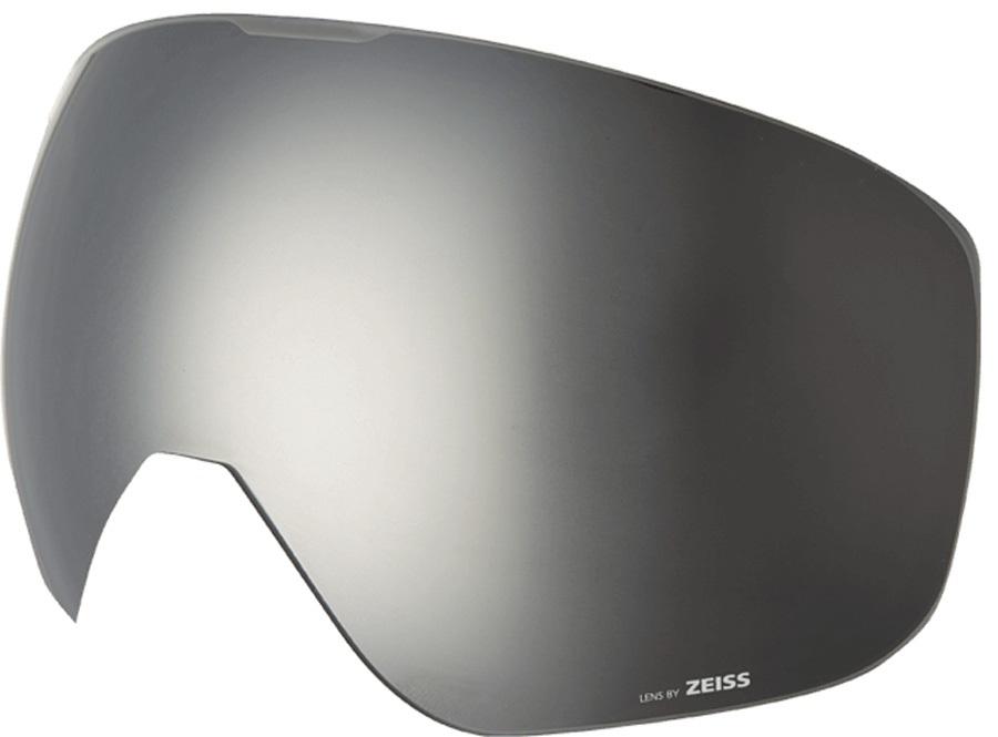 Melon Jackson Ski/Snowboard Goggle Lens, One Size Silver Chrome